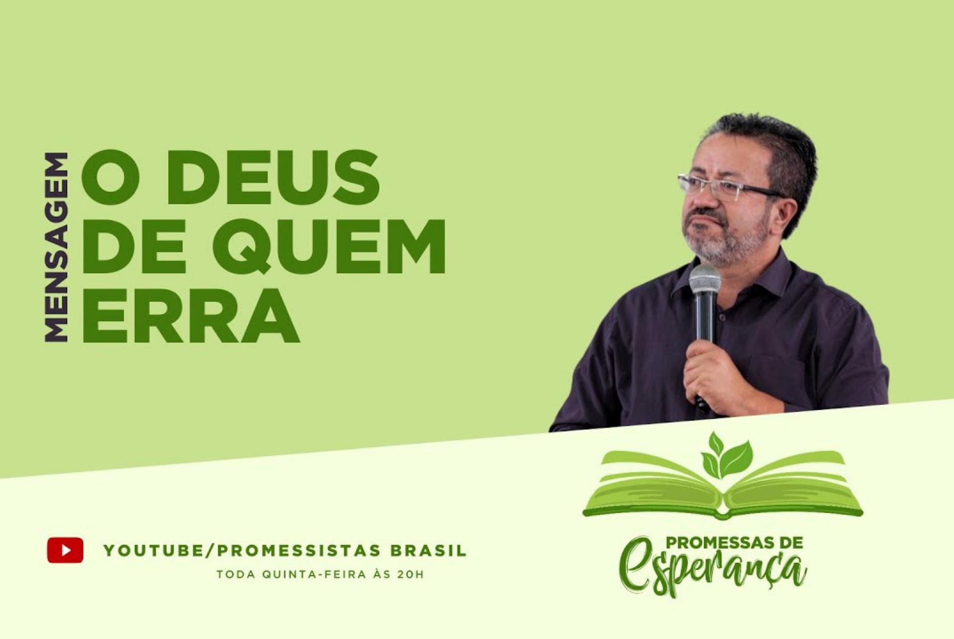 """Estreia: Conheça o novo programa """"Promessas de esperança"""""""
