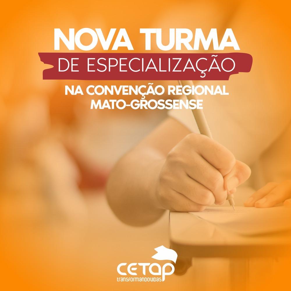 Teologia: Nova turma de Especialização é aberta na Convenção Mato-Grossense